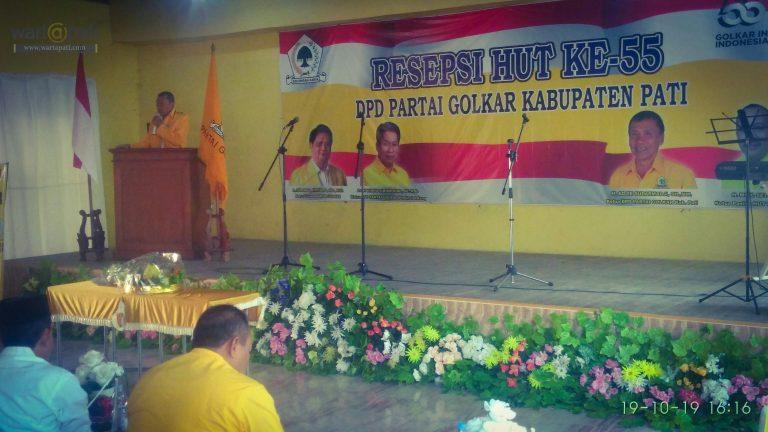 Ulang Tahun ke-55, DPD  Golkar Pati Percepat Konsolidasi Internal Partai