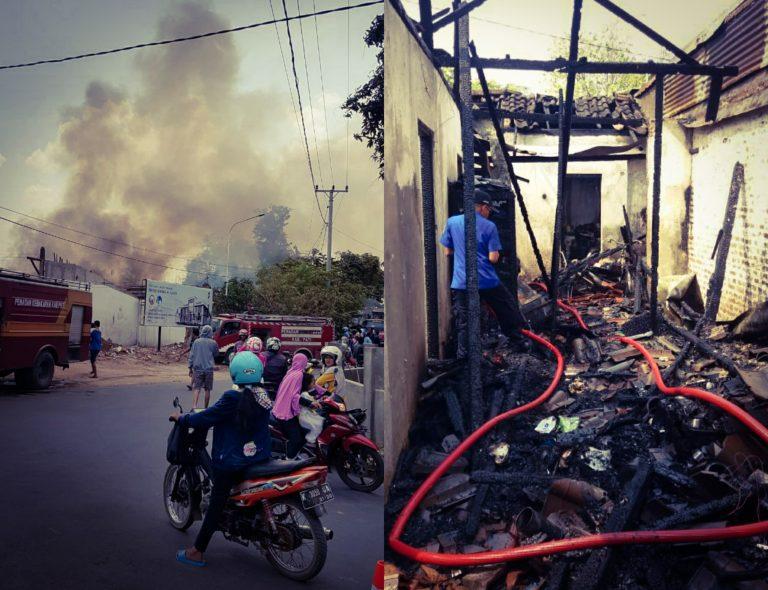 Kebakaran Rumah di Ngagul Margorejo Pati, Kerugian 350 Juta Rupiah