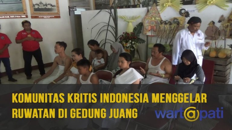 Komunitas Kritis Indonesia Cabang Pati Gelar Ruwatan di Gedung Juang