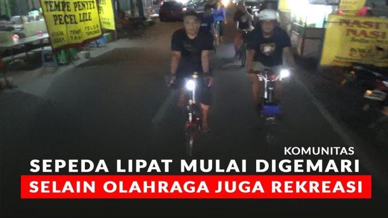 Alasan Sepeda Lipat yang Kini Mulai Digemari Lagi