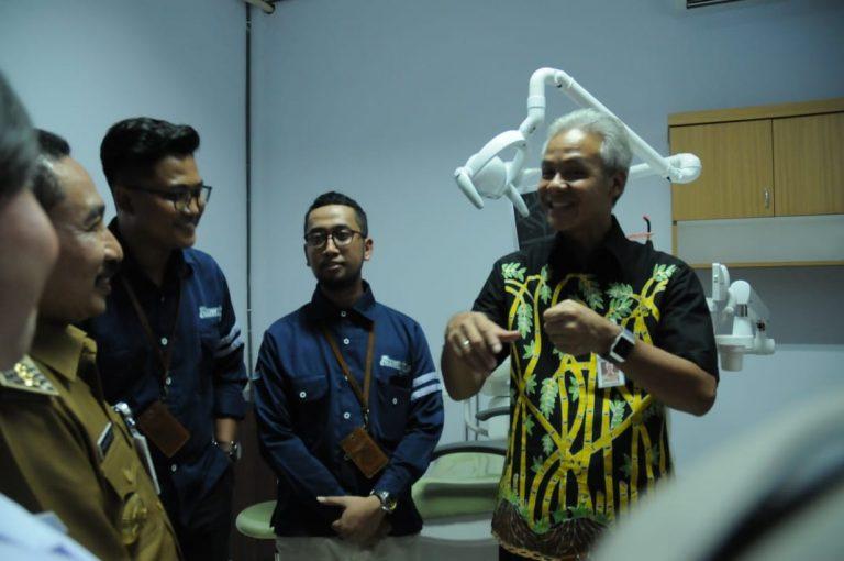 Resmikan Klinik BUMDes, SDM Unggul Indonesia Jaya
