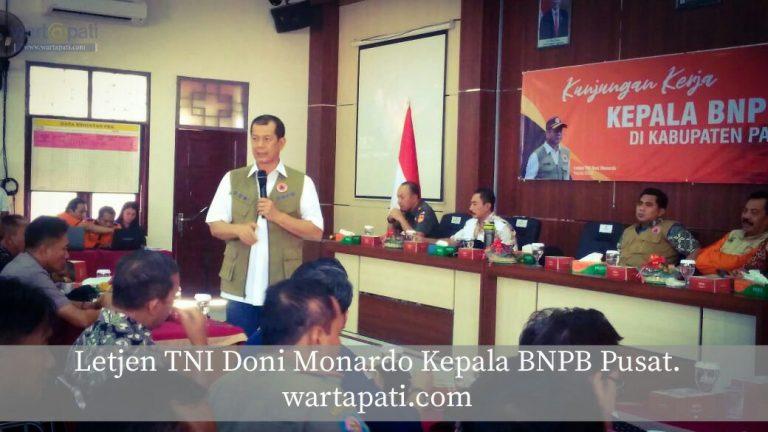 Kepala BNPB Pusat Ajak Masyarakat Menanam Di Kendeng