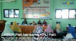 LKP2A dan KPU Pati Pendidikan Politik dan Demokrasi Pemilu 2019