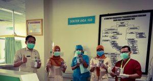 berita pati bantuan untuk tenaga medis di pati