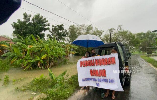 pati banjir bantuan sma bopri pati